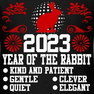 year of the rabbit 12121212.png T-Shirts - Men's T-Shirt