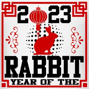 year of the rabbit 11728172812.png T-Shirts - Men's T-Shirt