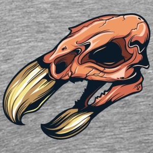 bird_skull_1 - Men's Premium T-Shirt