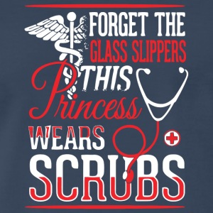 This Princess Wears Scrubs T Shirt - Men's Premium T-Shirt
