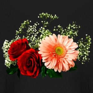 Gerbera Daisy And Two Roses Kids' Shirts - Kids' Long Sleeve T-Shirt