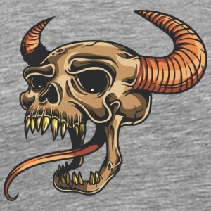 demon_with_tongue - Men's Premium T-Shirt
