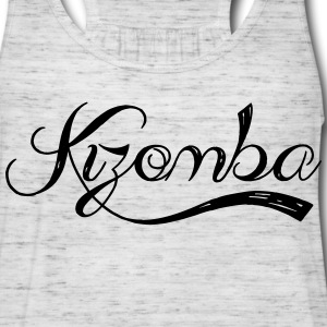 Women's Kizomba Script Tank  - Women's Flowy Tank Top by Bella