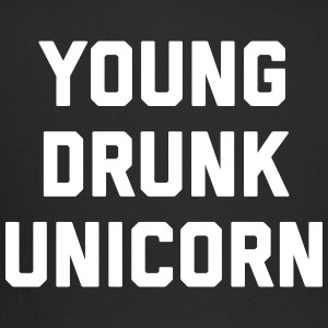 Young Drunk Unicorn Funny Quote Sportswear - Trucker Cap