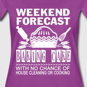BAKING CAKE - Women's Premium T-Shirt