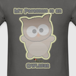 My Patronus is an Owlbear Men's Tee - Men's T-Shirt