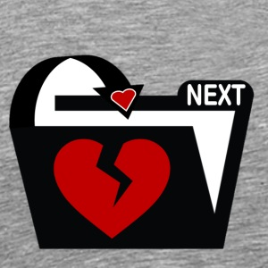 Valentine I'm Done and Who's Next - Men's Premium T-Shirt
