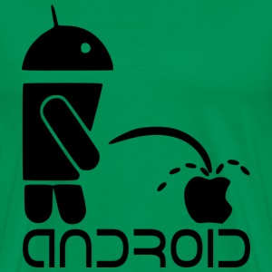 Android Versus Apple - Men's Premium T-Shirt