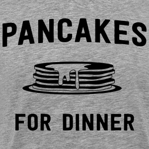 Pancakes for dinner T-Shirts - Men's Premium T-Shirt