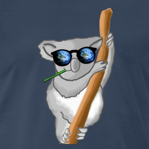 Space Koala  - Men's Premium T-Shirt