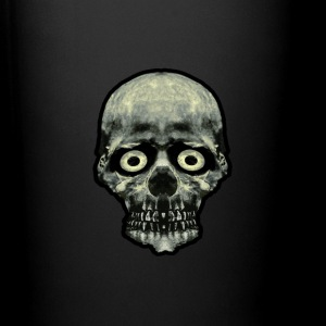 Funny Scared Skull Artwork - Full Color Mug