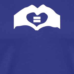 Gay rights lesbian cool gay marriage geek 2 - Men's Premium T-Shirt