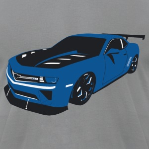 Slammed Camaro - Men's T-Shirt by American Apparel
