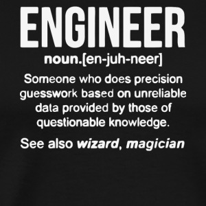 Engineer Noun T Shirt - Men's Premium T-Shirt