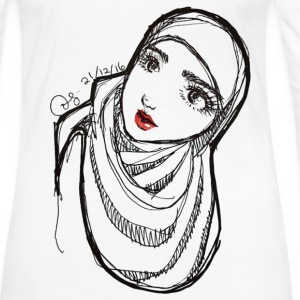 Hijabi - Women's Premium Long Sleeve T-Shirt