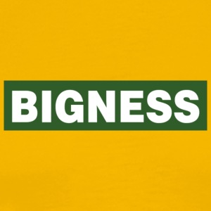 BIGNESS Green - Men's Premium T-Shirt