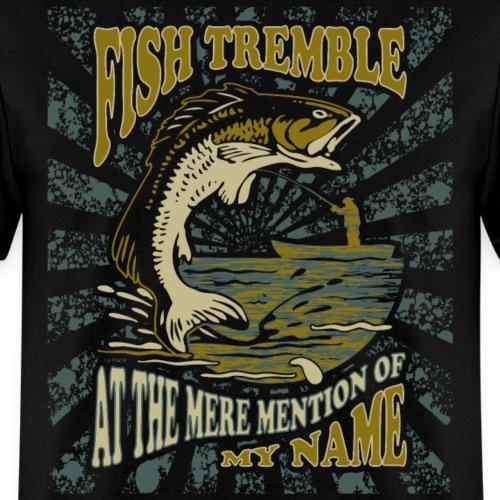 Fish Tremble Funny Fishin