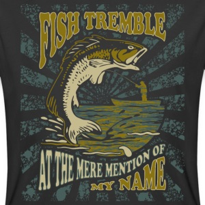 Fish Tremble - Funny Fishing Gifts T-Shirts - Men's 50/50 T-Shirt