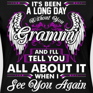 Its Been A Long Day Without You Grammy T-Shirts - Women's Premium T-Shirt