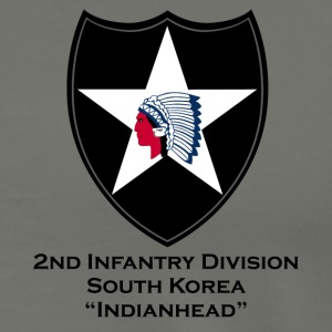 2nd Infantry Indianhead T-Shirts - Men's Premium T-Shirt