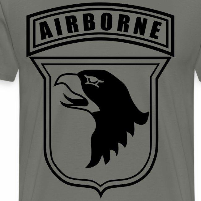 101st Airborne stencil
