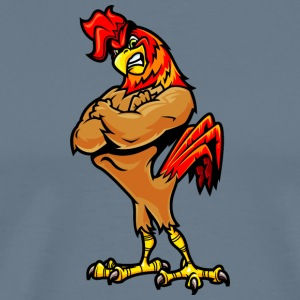 muscular_rooster - Men's Premium T-Shirt