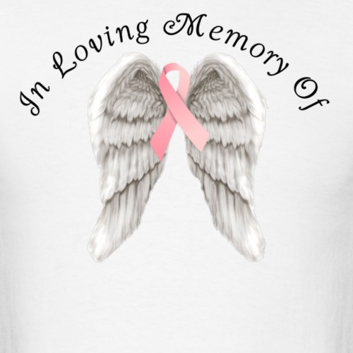 Memory Angel Wings for Breast Cancer template