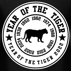 year of tigerrrr 11111.png T-Shirts - Men's T-Shirt