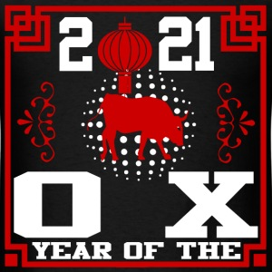 year of the ox 2121291829182912.png T-Shirts - Men's T-Shirt