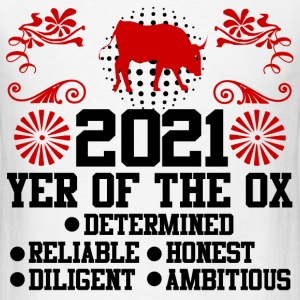year of the ox 289182918291821.png T-Shirts - Men's T-Shirt