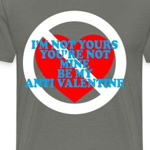 be_my_anti_valentine_ - Men's Premium T-Shirt
