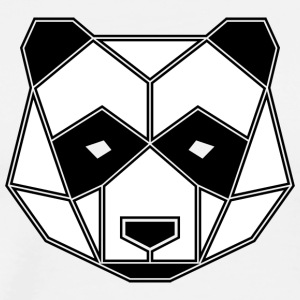 Geometric Giant Panda - Men's Premium T-Shirt