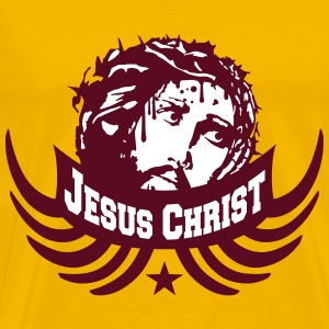 Blood dead thorns crown crown jesus christ team cr T-Shirts - Men's Premium T-Shirt