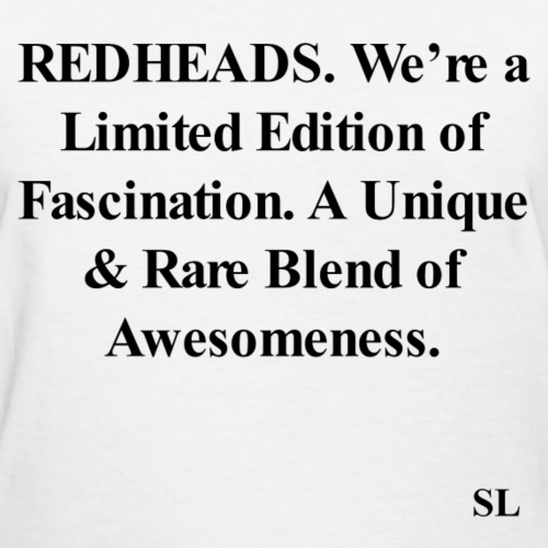 REDHEAD Quotes Tee #11
