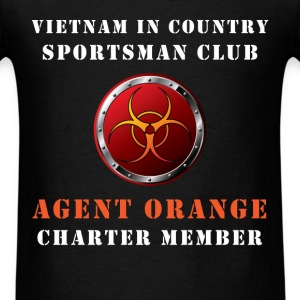 Agent Orange - Vietnam in country sportsman club.  - Men's T-Shirt