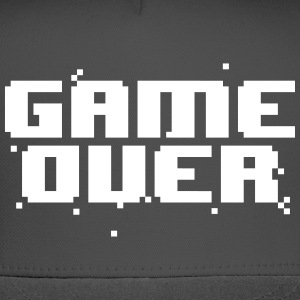 GAME OVER RETRO PIXEL CAP - Trucker Cap