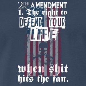 2nd Amendment The Right To Defend Your Life - Men's Premium T-Shirt