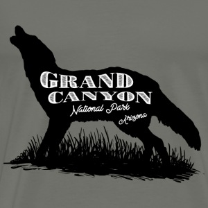 Grand Canyon National Park label. - Men's Premium T-Shirt