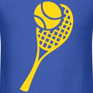 Tennis Racket and Ball T-Shirts - Men's T-Shirt