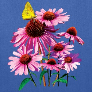 Yellow Sulphur Butterfly On Coneflower Bags & backpacks - Tote Bag