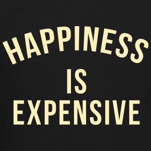 Happiness is expensive Long Sleeve Shirts - Crewneck Sweatshirt