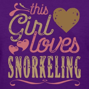 This Girl Loves Snorkeling T-Shirts - Women's T-Shirt