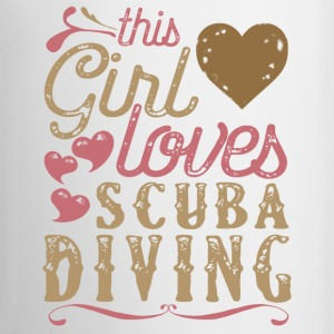 This Girl Loves Scuba Diving Mugs & Drinkware - Coffee/Tea Mug