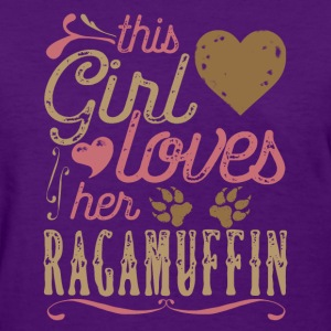 This Girl Loves Her Ragamuffin Cat T-Shirts - Women's T-Shirt