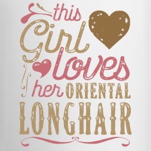 This Girl Loves Her Oriental Longhair Cat Mugs & Drinkware - Coffee/Tea Mug