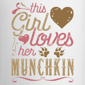 This Girl Loves Her Munchkin Cat Mugs & Drinkware - Coffee/Tea Mug