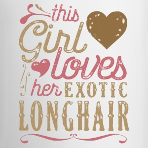 This Girl Loves Her Exotic Longhair Cat Mugs & Drinkware - Coffee/Tea Mug
