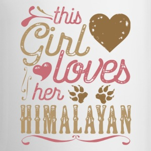 This Girl Loves Her Himalayan Cat Mugs & Drinkware - Coffee/Tea Mug