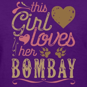 This Girl Loves Her Bombay Cat T-Shirts - Women's T-Shirt