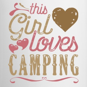 This Girl Loves Camping Mugs & Drinkware - Coffee/Tea Mug